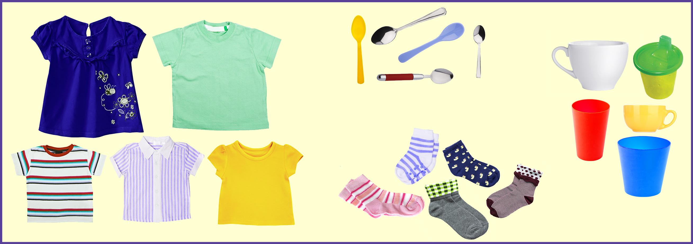 Arrange objects by shape.