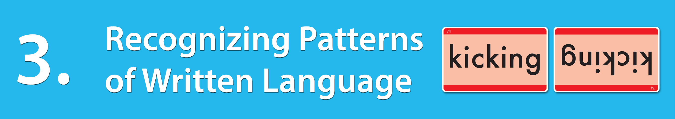 Milestone 3: Recognizing Patterns of the Written Language